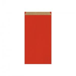 Pochette cadeau rouge (18x6x35cm) / Par 250