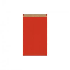 Pochette cadeau rouge (16x8x27cm) / Par 250