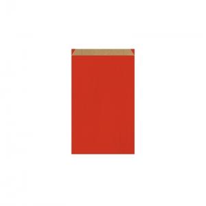 Pochette cadeau rouge (12x4,5x20cm) / Par 250