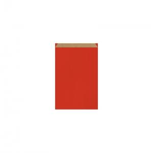 Pochette cadeau rouge (11x17cm) / Par 250