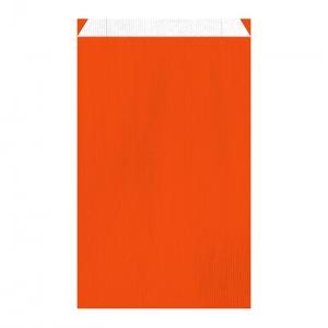 Pochette cadeau orange (27x7x45cm) / Par 250