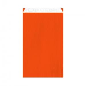 Pochette cadeau orange (24x7,5x41cm) / Par 250