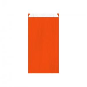 Pochette cadeau orange (18x6x35cm) / Par 250
