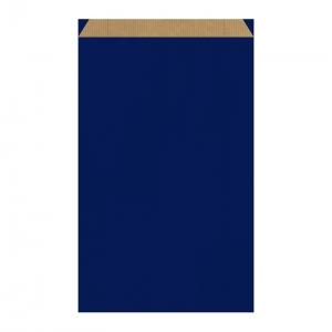 Pochette cadeau bleue (27x7x45cm) / Par 250