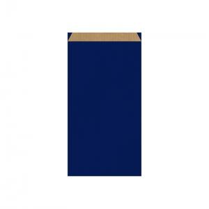 Pochette cadeau bleue (18x6x35cm) / Par 250
