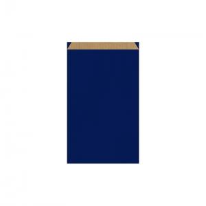Pochette cadeau bleue (16x8x27cm) / Par 250