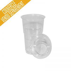 "Gobelet plastique 30cl transparent ""Shaker"""