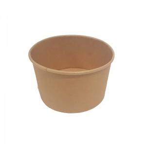 Pot à glace en carton brun 24 cl / Par 50