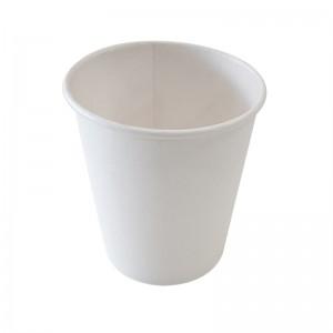 Gobelet carton blanc 24cl (sp8) recyclable / Par 50