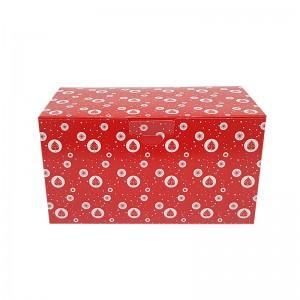 Boîte à bûche décorée 20x11x11cm (New line)