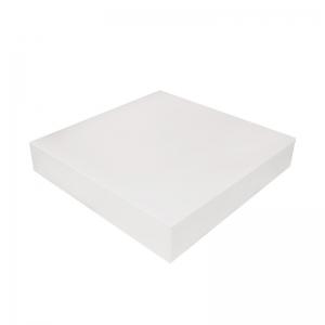 Boîte à gâteau carton blanc, 23x5cm / Par 50