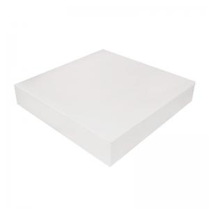Boîte à gâteau carton blanc, 26x5cm / Par 50