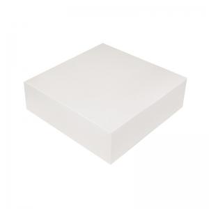 Boîte à gâteau carton blanc, 16x5cm