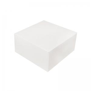 Boîte à gâteau carton blanc 16x8cm / Par 50