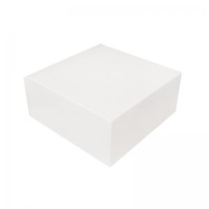 Boîte à gâteau carton blanc 18x8cm / Par 50