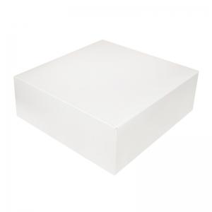 Boîte à gâteau carton blanc 22x8cm / Par 50